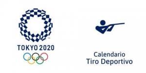Calendario Tiro Deportivo Tokio 2020