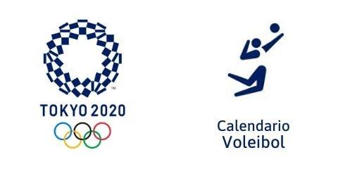 Calendario Voleibol Tokio 2020