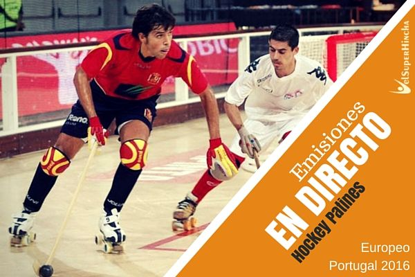 Hockey Patines en Directo. Europeo Portugal 2016