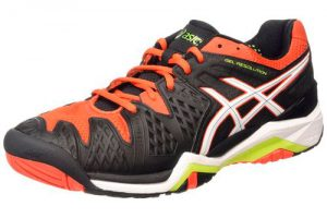 Zapatillas Asics Gel Resolution 6 para hombre. Color Negro
