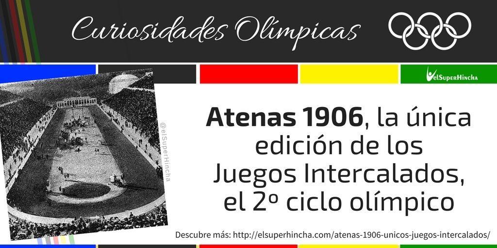 Atenas 1906 fue la única edición de los Juegos Intercalados