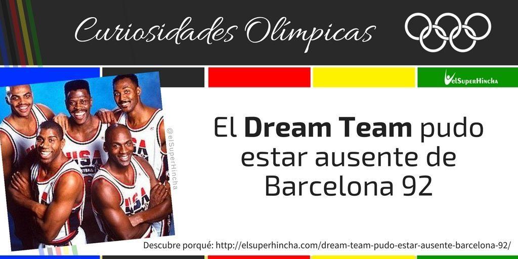 El Dream Team pudo estar ausente de los Juegos Olímpicos Barcelona 1992