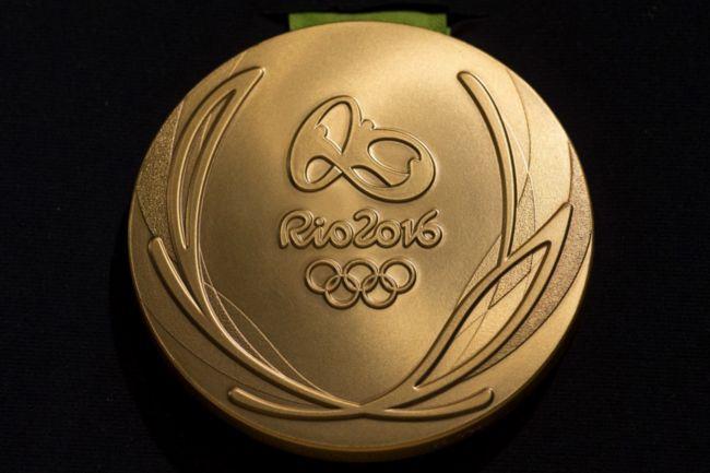 Las medallas olímpicas de los Juegos Olímpicos, en realidad no son de oro