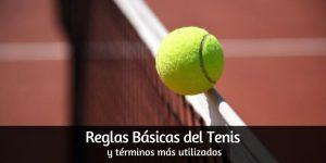 Tenis, Reglas básicas