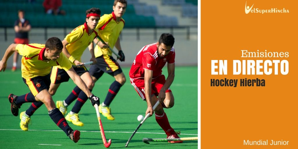 Hockey Césped En Directo. Mundial Junior Lucknow 2016