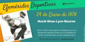 Efeméride del 24 de enero: Nace Shae-Lynn Bourne, patinadora artística de danza