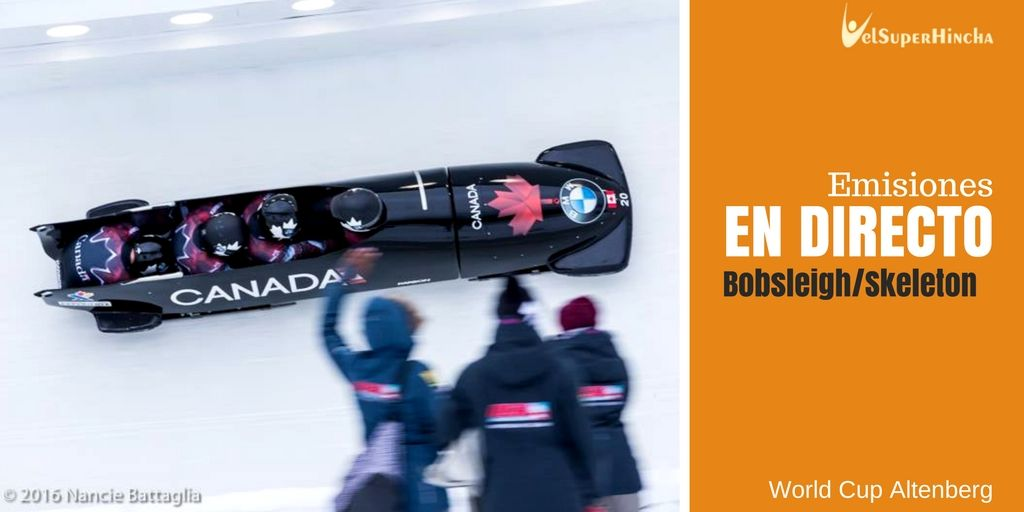 Bobsleigh y Skeleton En Directo. World Cup Altemberg
