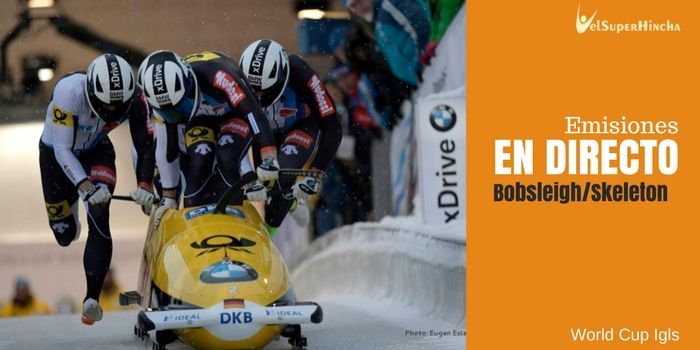 World Cup Igls de Bobsleigh y Skeleton En Directo