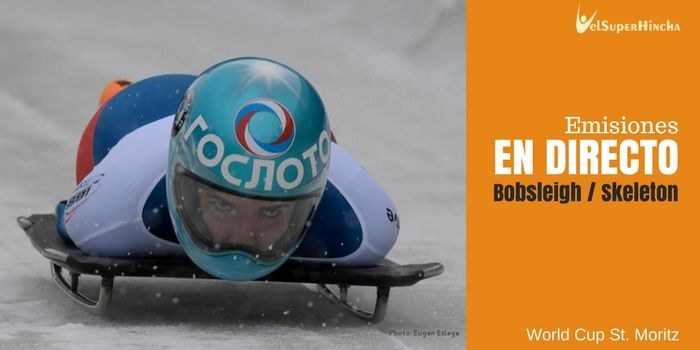 Bobsleigh y Skeleton En Directo. World Cup St. Moritz 2017