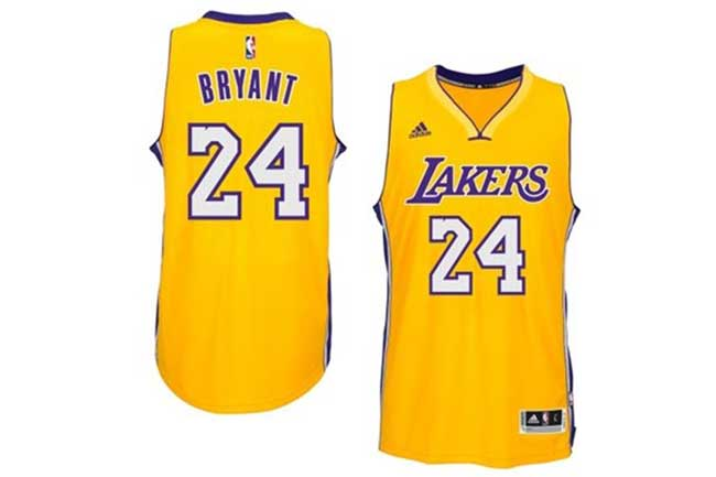Comprar Camiseta Kobe Bryant Los Angeles Lakers Local