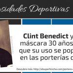 ¿Qué portero de la NHL fue el primero en usar máscara? ¿Jacques Plante o Clint Benedict?