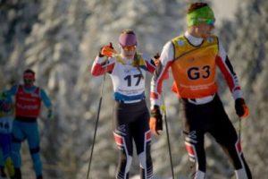 Esquí de Fondo Paralímpico con guía, para esquiadores con deficiencia visual