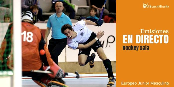 Hockey Sala En Directo. Europeo Junior Lisboa 2017