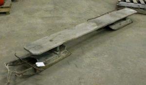 Los primeros bobsleighs eran 2 trineos unidos por una tabla de madera