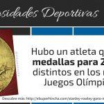 El atleta que ganó medallas para 2 países distintos en unos mismos Juegos Olímpicos