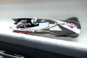 El bobsleigh puede tener 1 tripulante, 2 ó 4