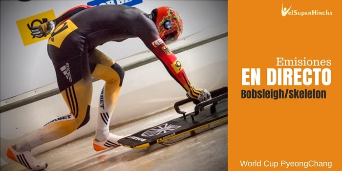 World Cup Bobsleigh y Skeleton PyeongChang En Directo