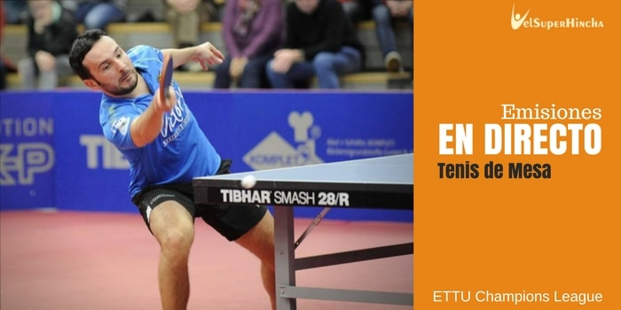 ETTU Table Tennis Champions League En Directo. Ida de Semifinales.