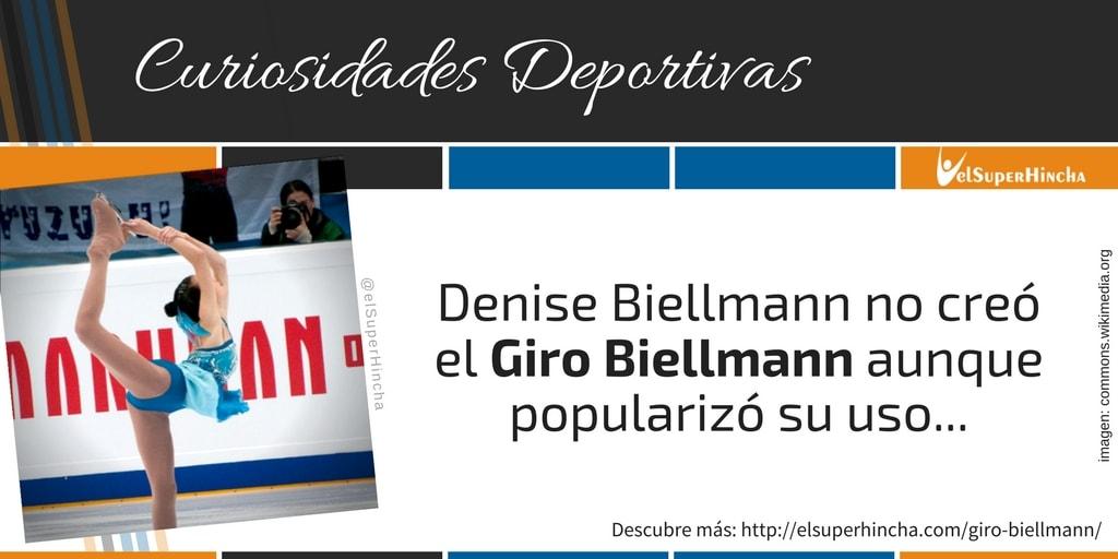 Denise Biellmann no fue la inventora de la pirueta que lleva su nombre