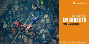 MX Freestyle En Directo. Night of the Jumps Cracovia 2017