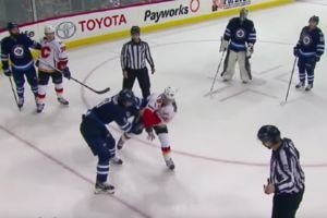 Hockey Sobre Hielo. Las peleas