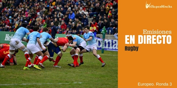 Rugby Europe Championship 2017 En Directo. 3ª Ronda (Europeo Rugby)