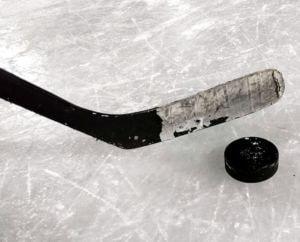 Stick y Puck de Hockey Hielo