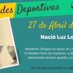 27 de abril: Nació Luz Long