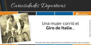 Alfonsina Strada, la única mujer que corrió el Giro de Italia