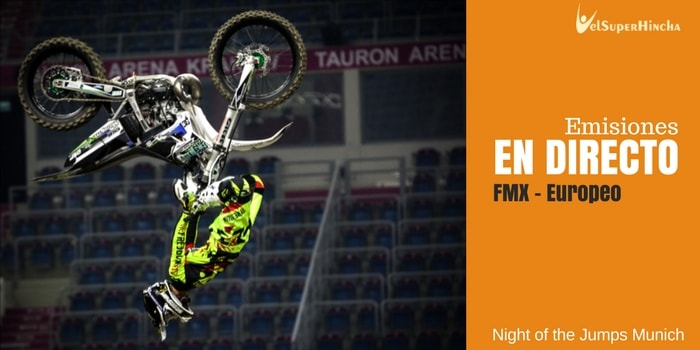 Europeo FMX En Directo. Night of the Jumps Múnich 2017