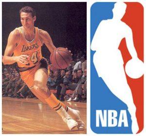 El logo de la NBA está inspirado en una foto de Jerry West