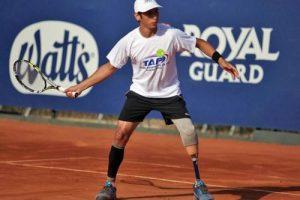 El Tenis Adaptado de Pie cuenta con 4 categorías de tenistas