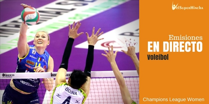 Final Four Champions League Femenina de voleibol En Directo