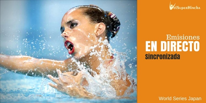 Natación Sincronizada En Directo. World Series Japan Open