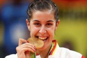 Carolina Marín es la única jugadora de Bádminton española que ha ganado una medalla olímpica