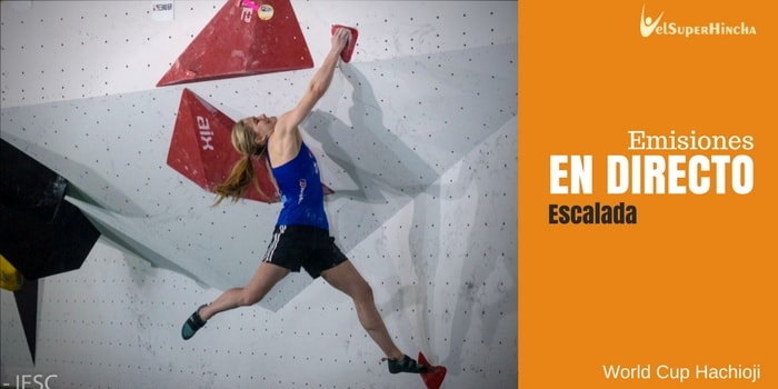 Hachioji World Cup de Escalada En Directo. Bloque