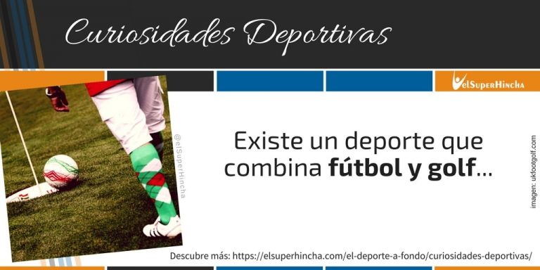 Fútgolf, o Footgolf, el deporte que une fútbol y golf