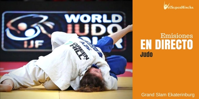 Grand Slam Ekaterinburgo de Judo En Directo | Ekaterinburg Grand Slam