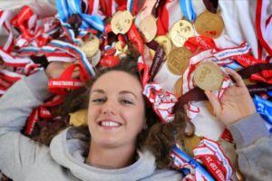 Katinka Hosszu ha ganado más de 50 medallas olímpicas, mundiales y europeas en su carrera de nadadora
