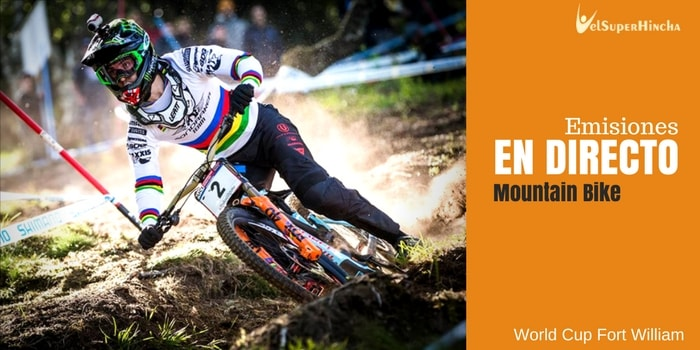 World Cup Fort William de MTB Downhill En Directo