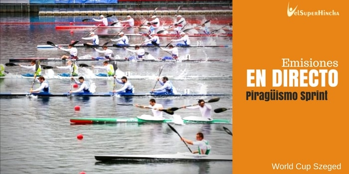 World Cup Piragüismo Sprint Szeged En Directo