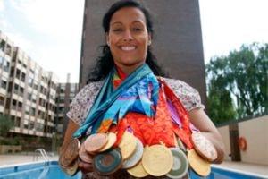 Teresa Perales es una de las mayores medallistas olímpicas de la historia