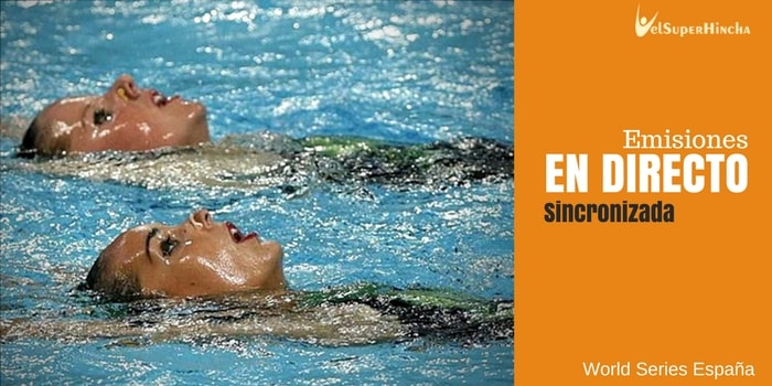 FINA World Series 2017 | España Sincro En Directo