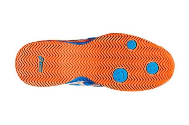 zapatillas padel asics suela espiga