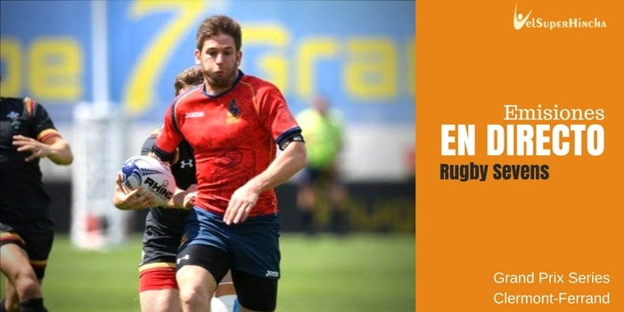 Ronda 3 Rugby 7s Grand Prix Series En Directo. Clermont-Ferrand