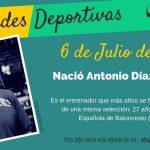 6 de Julio: Nació Antonio Díaz-Miguel