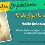 15 de agosto: Nació Italo Santelli