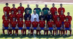 Alineación de la Selección Española durante el Mundial Sudáfrica 2010