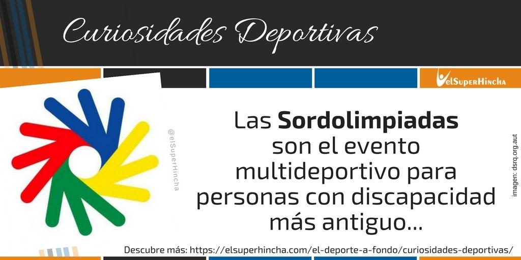 Deaflympics, el primer evento deportivo internacional que se creó para personas con discapacidad