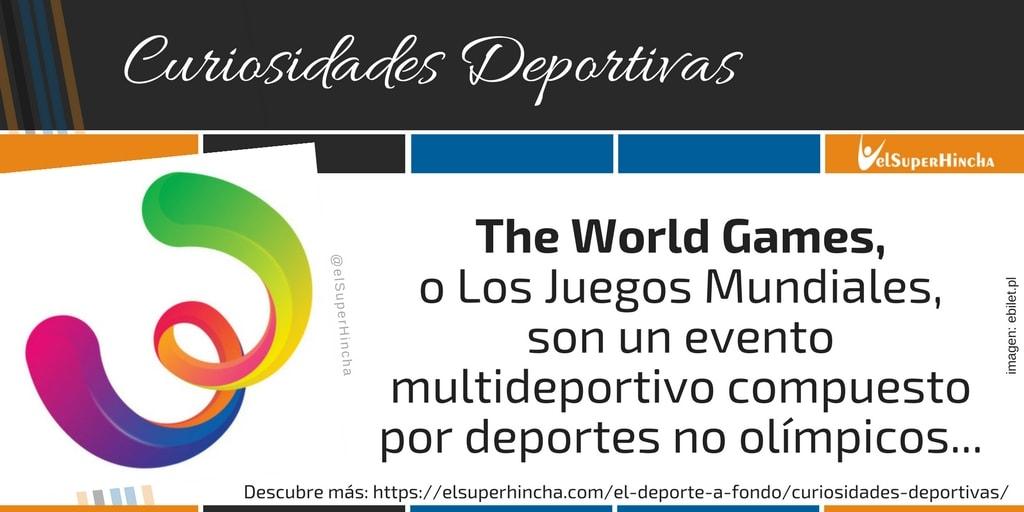 World Games. Los Juegos Mundiales para Deportes no Olímpicos